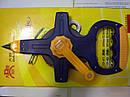 Вимірювальні інструменти, рулетки, лекала, мікрометри.
