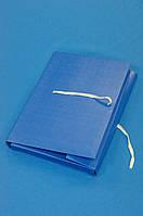 Папка с карманом на завязках