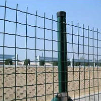 Сварная сетка Euro Fence 50*50 с ПВХ покрытием для забора.  .