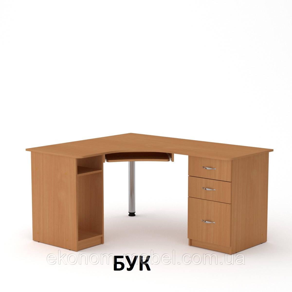 Угловой компьютерный стол СУ-9 простой, игровой