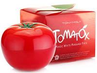 Томатная маска для лица TonyMoly Tomatox Magic White Massage Pack