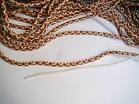 Шнур текстильный, диаметр 5 мм, комбинированный, с наполнителем