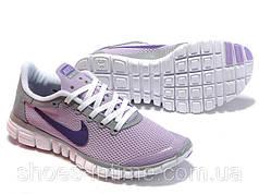 Женские кроссовки Nike Free Run 3.0 сиреневые