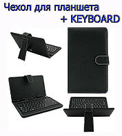 Чехол с клавиатурой   KEYBOARD 7 black micro