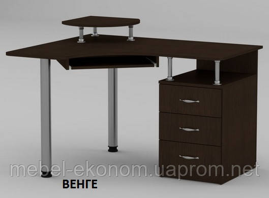 Угловой стол для пк СУ-2 с ящиками, геймерский