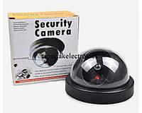 Видеокамера шар – обманка Security Camera, муляж камера обманка