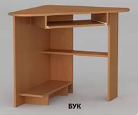 Угловой компьютерный стол СУ-15 Мини, маленький и компактный, равносторонний, фото 1