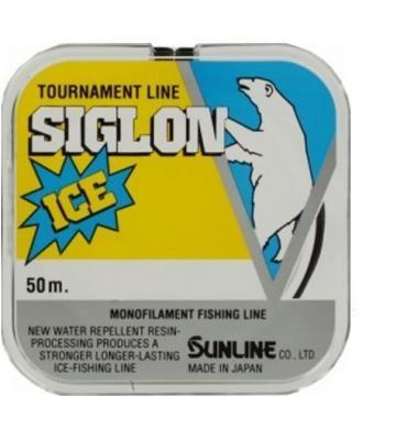 Леска Sunline SIGLON ICE 50м #0.4/0.104мм 1кг