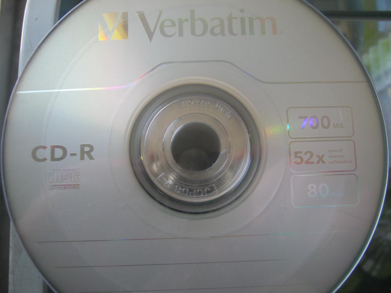 CD-R Verbatim Extra Protection 80 52х ( 50шт)