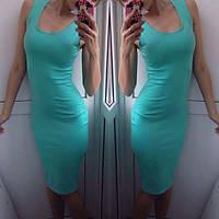 cf0c8765617 Модное женское летнее платье - майка трикотаж  продажа
