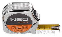 Рулетка neo, сталева стрiчка  5 м x 19 мм
