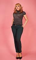 Женские брюки зеленого цвета №1622