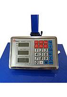 Весы торговые электронные ACS 600 kg 45*60 Fold Domotec 6V с железной головой