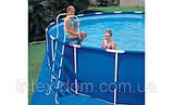 Бассейн INTEX прямоугольный Rectangular Ultra Fram400x200x100 арт.28350/54182/, фото 3