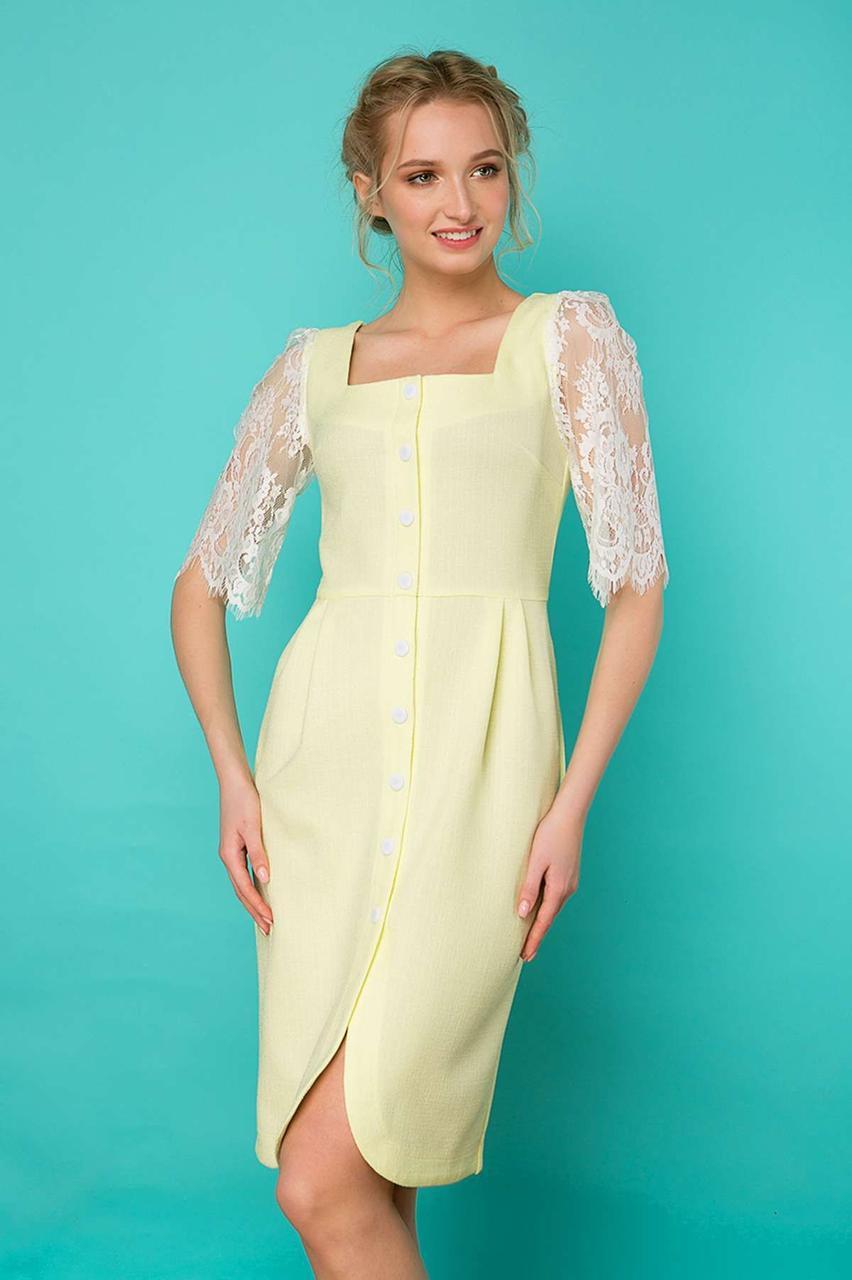 0310ceffdc1 Женственное летнее платье из натурального льна - Модный магазин в Киевской  области