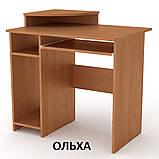 Стол компьютерный СКМ-1 простой, маленький, 80см, ДСП, фото 7