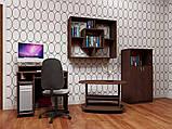 Стол компьютерный СКМ-1 простой, маленький, 80см, ДСП, фото 2