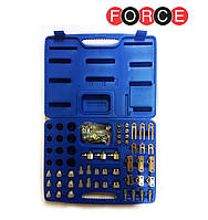 Набор адаптеров для тестирования системы кондиционирования 58 пр. (Force 958G1)