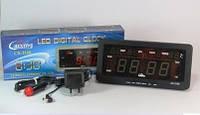 Электронные часы CX 2158, с термометром