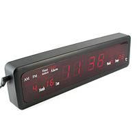 Часы настольные  Led Digital Clock CX-808 green