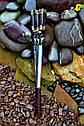 """Набор шампуров """"Люля-кебаб"""" 47см с ручкой из мореного дуба, фото 4"""