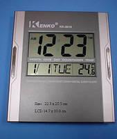 Настольные часы для дома KK 3810, время,дата,температура, будильник