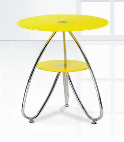 Стол журнальный  Камилла 3 (жёлтый), фото 2