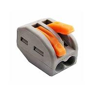 WAGO 222-412 (2 провода х 2,5 мм з нажимним важелем)