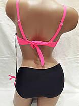 Купальник 317056 Бусины розовый на наши 46,48 размеры., фото 2