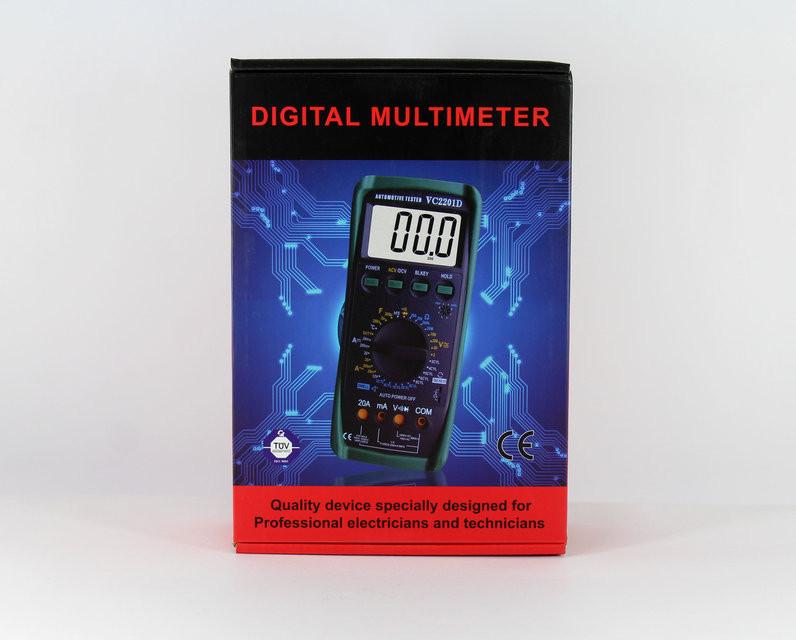 """Тестер мультиметр DT2101D - Интернет-Магазин """"Lita-Shop"""" в Одессе"""