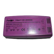 Трансформатор понижуючий c захистом TRA110 200W