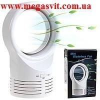 Безлопастный вентилятор Bladeless Fan бытовой 5 дюймов, фото 1