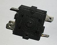 Перемикач режимів для тепловентилятора на 3 положення 15A 5 клем