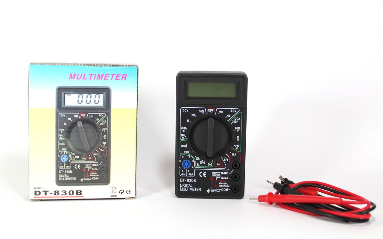 """Универсальный мультиметр DT 830B, многофункциональный цифровой тестер  - Интернет-Магазин """"Lita-Shop"""" в Одессе"""
