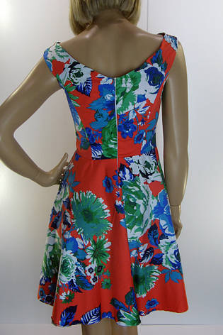 Платье сарафан с цветами , фото 2