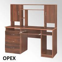 Стол компьютерный Менеджер для кабинета руководителя большой, с тумбами и шкафчиками, фото 1