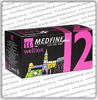 Голки Wellion Medfine Plus для інсулінових шприц-ручок 12мм (29G x 0,33 мм)