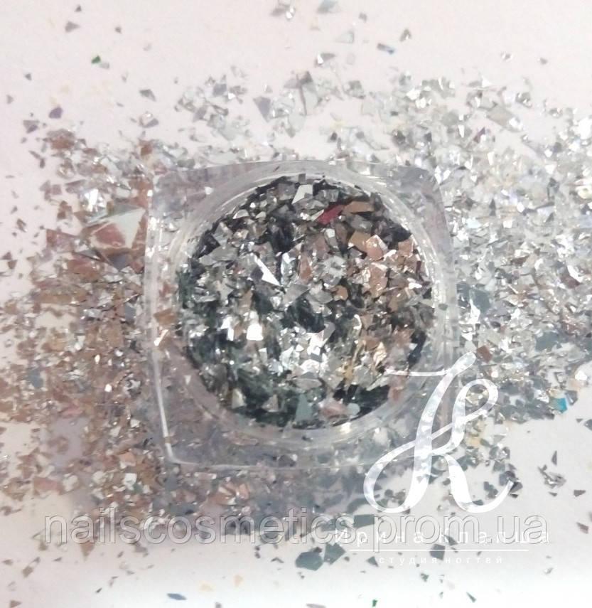 008/Gold битое стекло
