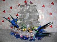Корабль из конфет (под заказ)