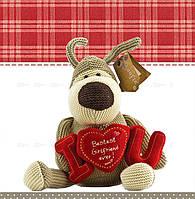 Подарочные пакеты Собака романтик  размер 24 х 24 см (6 шт./уп.)