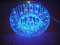 Хрустальная потолочная LED люстра P5-E0966/6 (CH)
