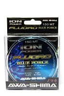 Леска AWA-SHIMA ION POWER FLUORO BLUE FORCE 150m