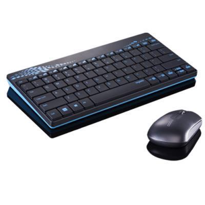 Комплект Rapoo 8000 wireless Blue
