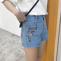 Шорты джинсовые W21
