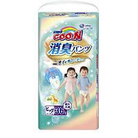 Трусики-подгузники GOO.N / Гун/Кун серии AROMAGIC DEO PANTS для весом детей 12-20 кг (р.Big(XL),унисекс,36шт.)