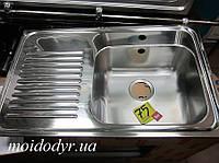 Мойка кухонная врезная из нержавеющей стали Тека - Teka Eline 1C1D полированная
