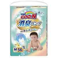 Трусики-подгузники GOO.N / Гун/Кун серии AROMAGIC DEO PANTS для детей весом 7-12 кг (размер M, унисекс, 56 шт)