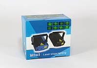 Лазерный прожектор для создания световых эффектов, диско LASER K4 4in1