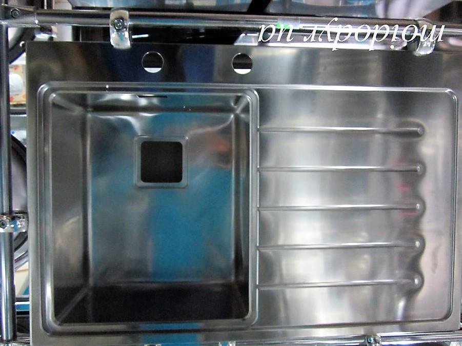 Мойка кухонная Teka Zenit 1B 1D врезная в столешницу (левая)