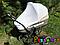 Антимоскитная сеть для коляски универсальная (на резинках)